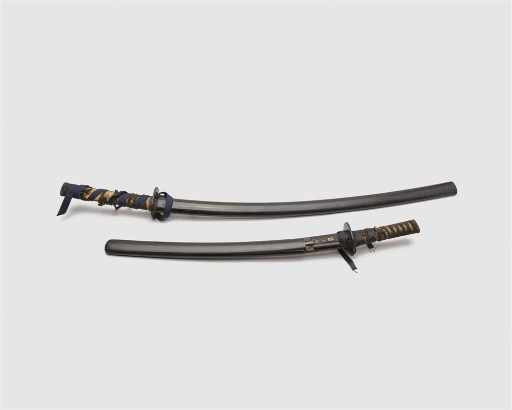 Two Japanese Katana Swords