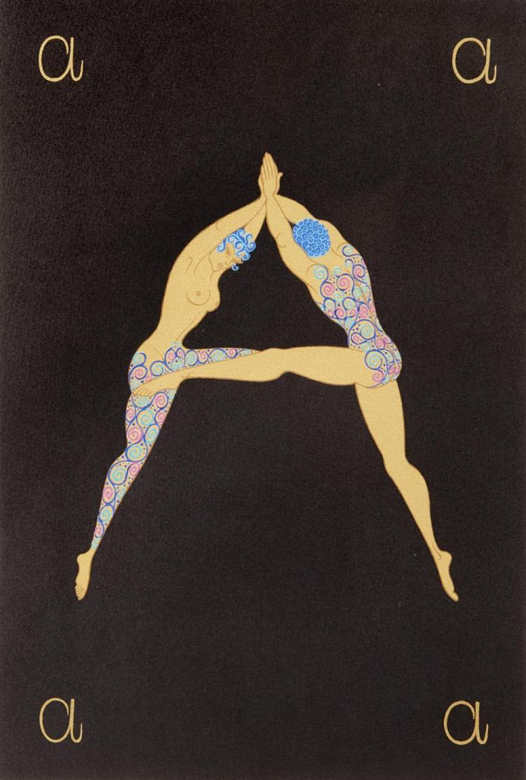 ERTÉ , (French, 1892-1990), The Alphabet Suite, suite of 26 prints, sheet: 25 x 18 3/4 in.