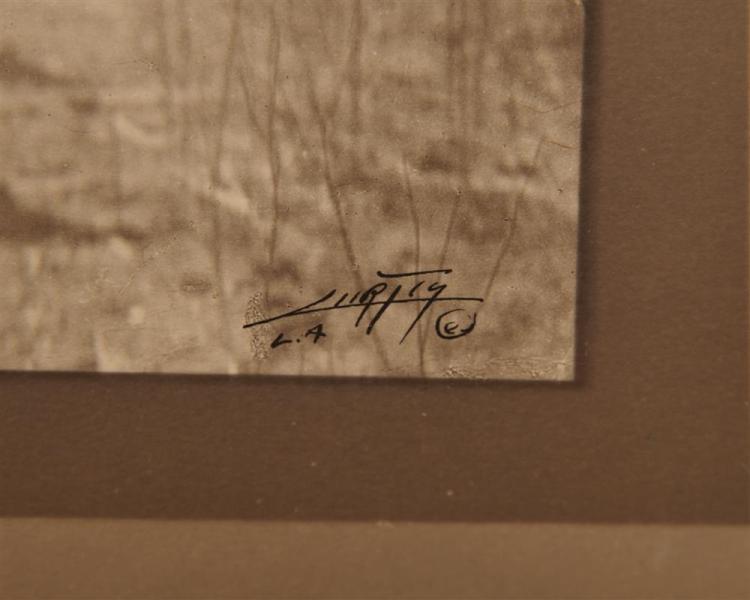 EDWARD SHERIFF CURTIS, (American, 1868-1952), The Vanishing Race, double border silver gelatin print, image: 5 5/8 x 7 5/8 in., sheet: 10 5/8 x 12 3/4 in.