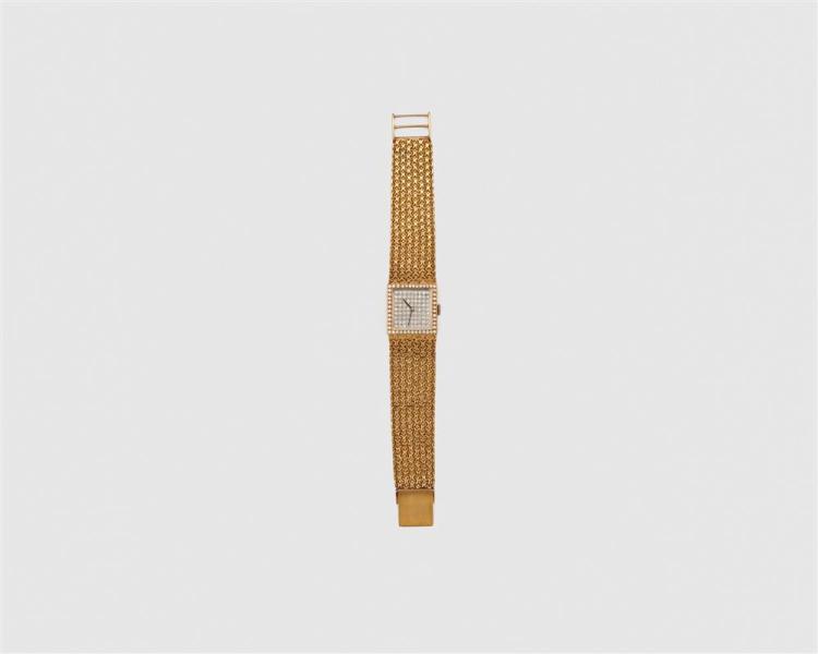 OMEGA 18K Gold and Diamond Wristwatch