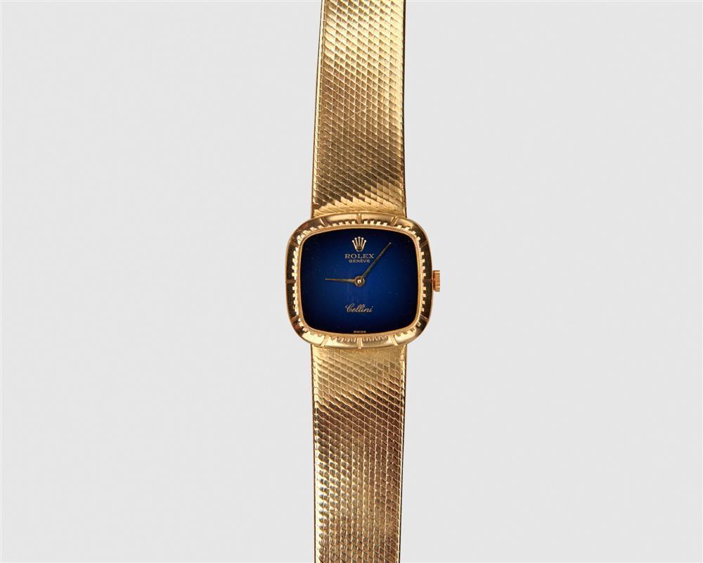 """ROLEX 18K Gold """"Cellini"""" Wristwatch"""