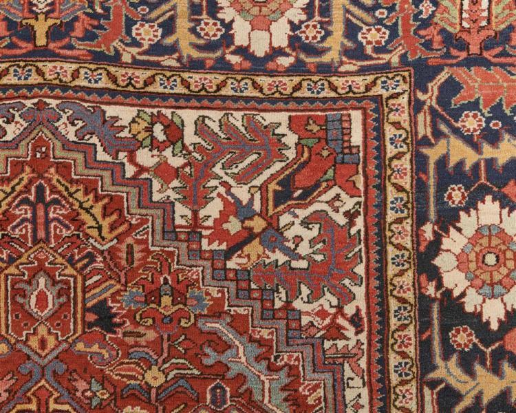 Heriz Carpet, Persia, ca. 1900; 11 ft. x 8 ft.