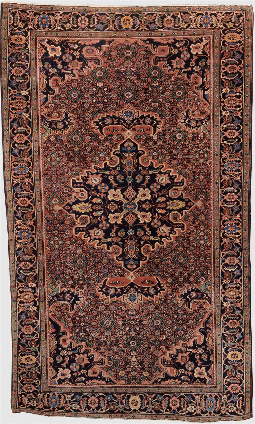 Sarouk Fereghan Rug, Persia, ca. 1900; 7 ft. 2 in. x 4 ft. 3 in.