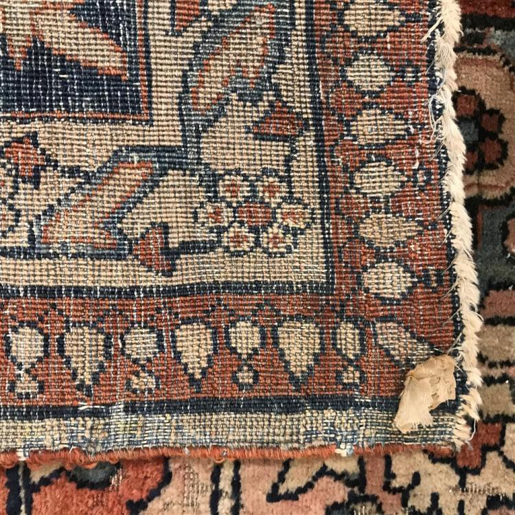 Sarouk Fereghan Signature Carpet, Persia, late 19th Century, signed;16 ft. 7 in. x 10 ft. 2 in.