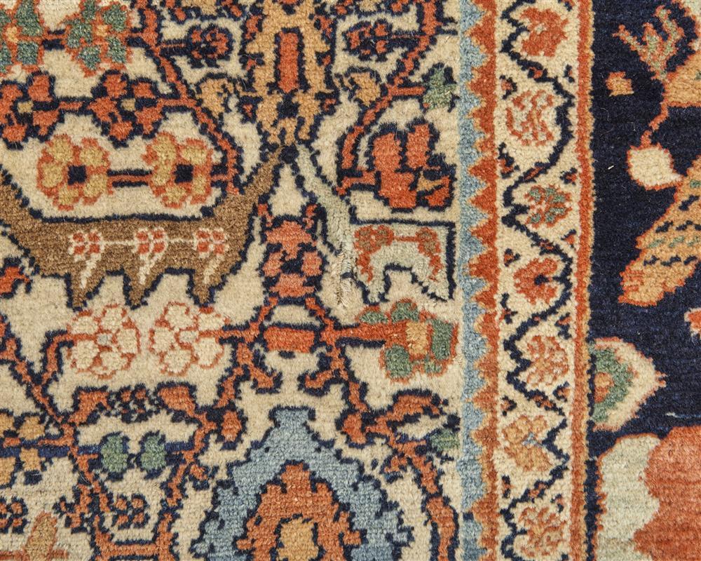 Malayer Ferraghan Carpet, Persia, ca. 1910; 10 ft. x 7 ft. 4 ft.