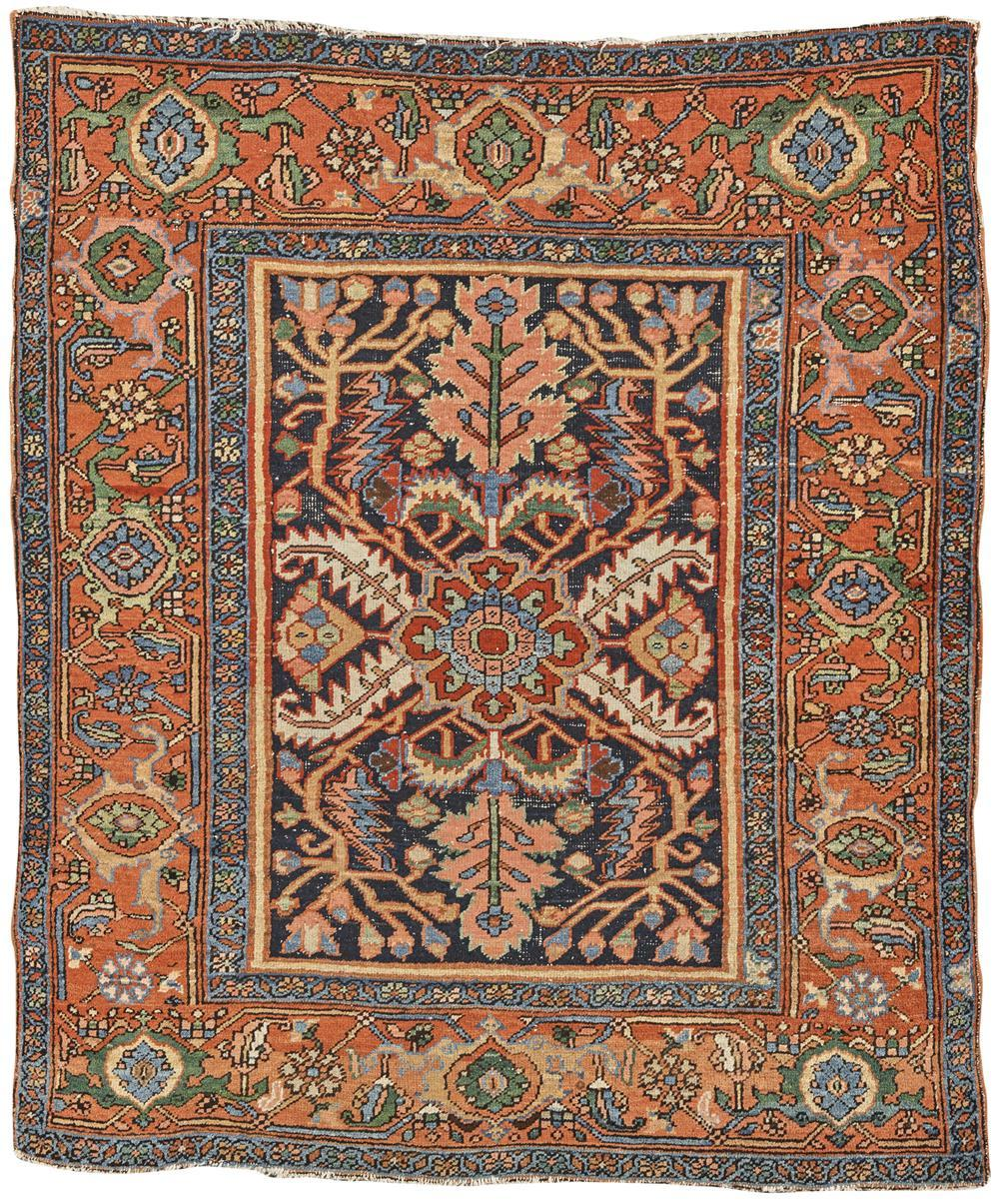 Heriz Rug, Persia, ca. 1910; 5 ft. 8 in. x 4 ft. 9 in.