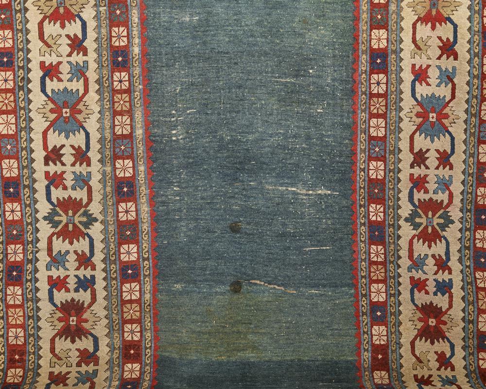 Caucasian Long Rug, ca. 1875; 11 ft. x 5 ft.