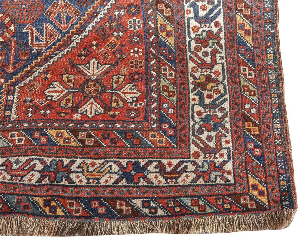 Kampseh Carpet, South Persia, ca. 1925; 10 ft. x 7 ft. 6 in.