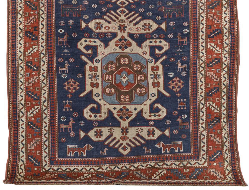 Kazak Rug, Caucasus, 19th century; 7 ft. 10 in. x 5 ft. 4 in.
