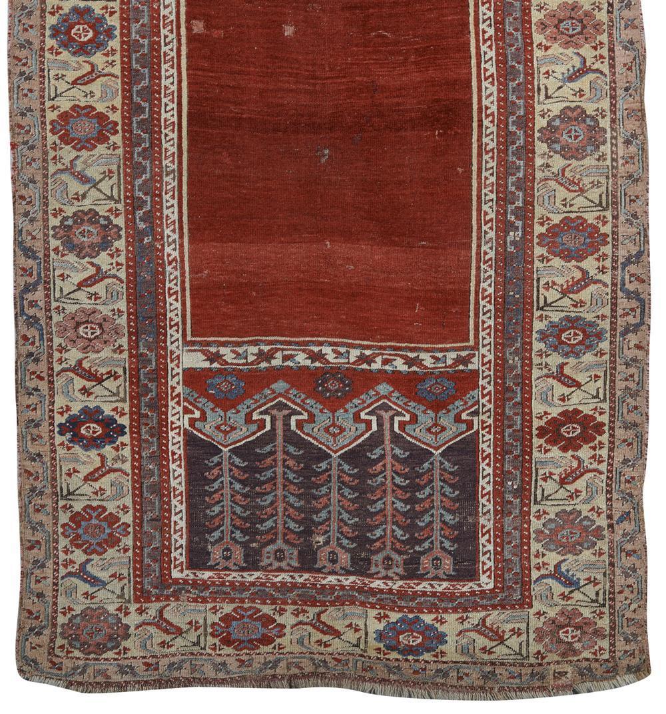 Ladik Prayer Rug, Turkey, early 19th century; 6 ft. x 3 ft. 7 in.