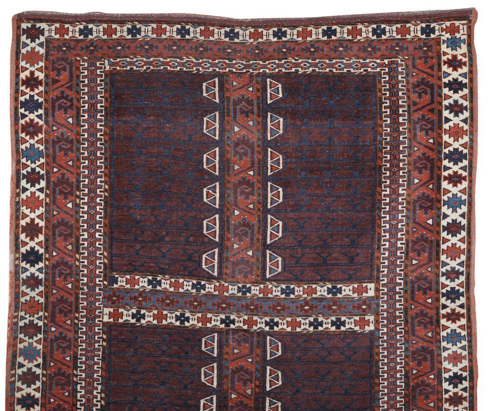Yomud Ensi, Turkestan, ca. 1900; 5 ft. 4 in. x 4 ft. 2 in.