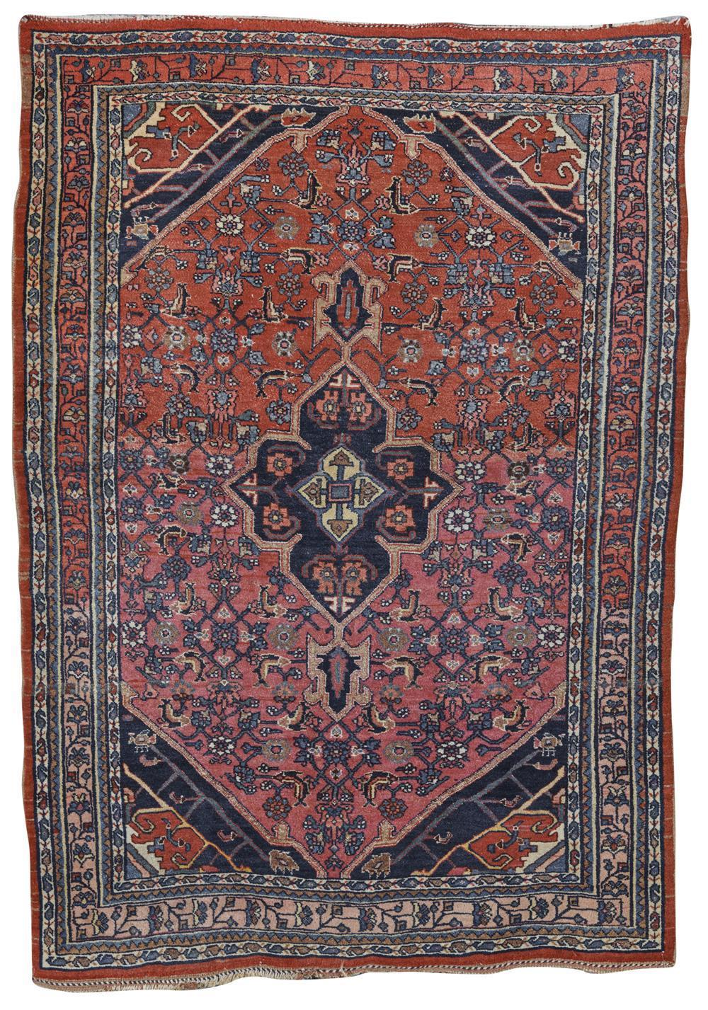 Bidjar Rug, Persia, first quarter 20th century; 5 ft. 1 in. x 3 ft. 5 in.