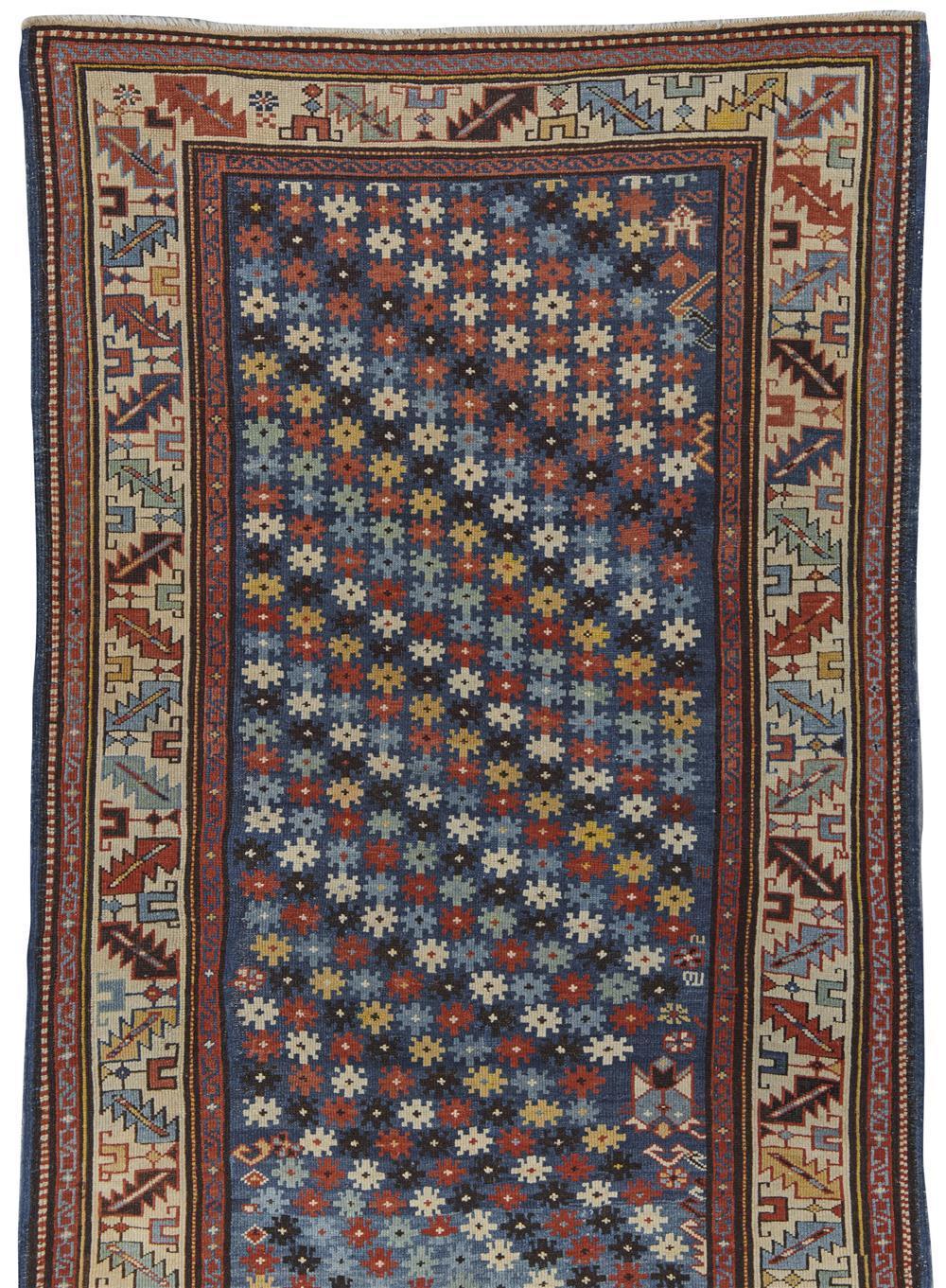 Kuba Rug, Caucasus, last quarter 19th century; 5 ft. 11 in. x 3 ft. 6 in.