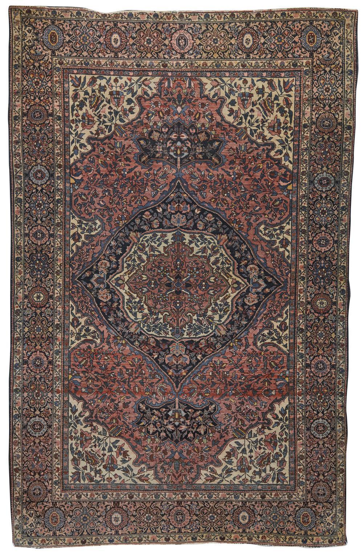Sarouk Fereghan Rug, Persia, ca. 1900; 6 ft. 8 in. x 4 ft. 3 in.