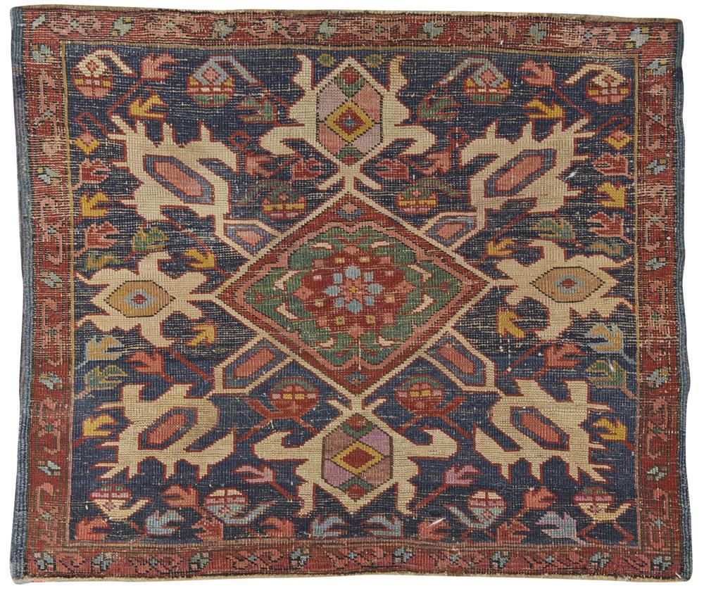 Seychour Mat, Caucasus, last quarter 19th century; 1 ft. 11 in. x 2 ft. 3 in.
