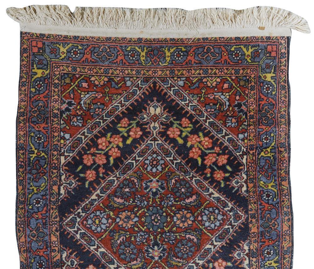 Bidjar Mat, Persia, ca. 1925; 2 ft. 9 in. x 2 ft.