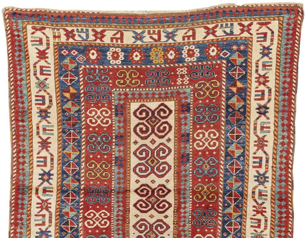 Kazak Rug, Caucasus, late 19th century; 6 ft. 3 in. x 5 ft.