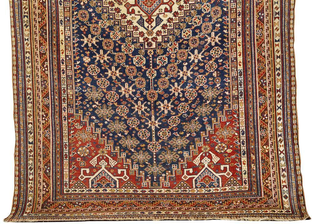 Qashgai/Shiraz Rug, Persia, ca. 1910; 8 ft. 2 in. x 5 ft. 2 in.