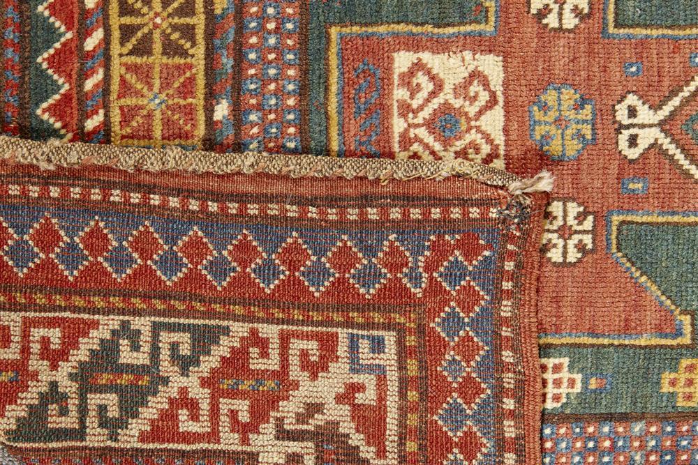 Kazak Rug, Caucasus, ca. 1900; 6 ft. x 3 ft. 10 in.