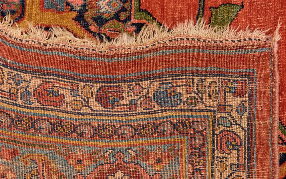 Bidjar Carpet, Persia, last quarter 19th century; 14 ft. x 9 ft.