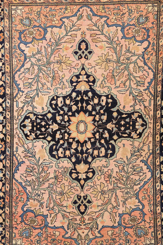 Sarouk Rug, Persia, ca. 1900; 5 ft. x 3 ft. 5 in.