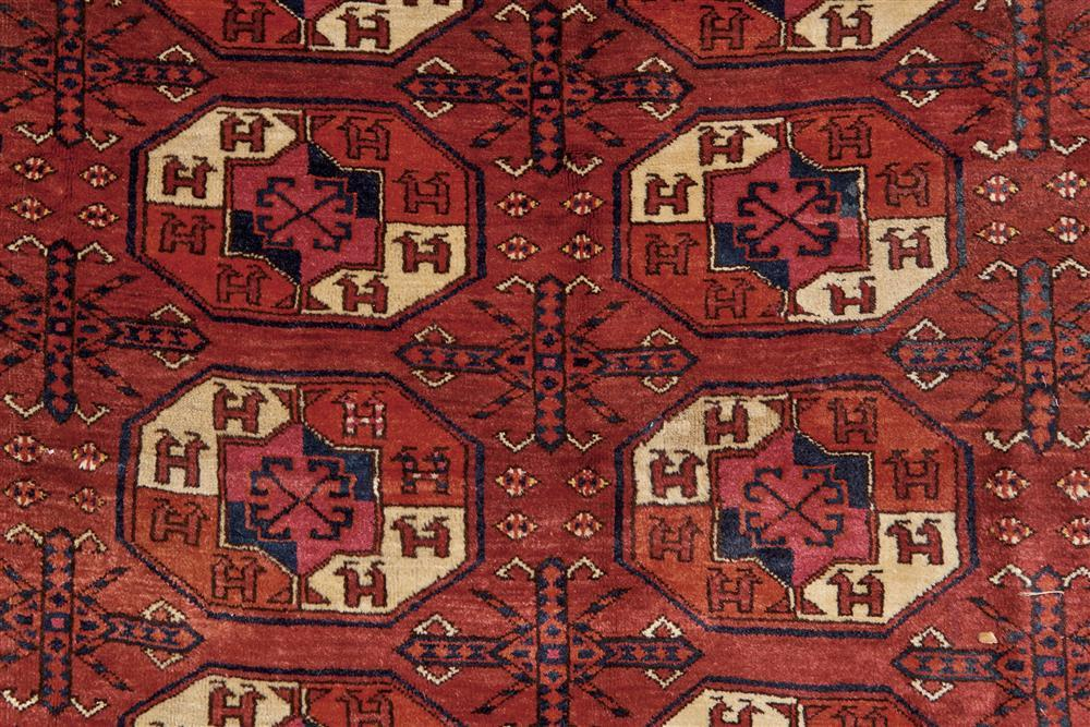 Kizal Ayak Main Carpet, Turkestan, ca. 1910; 11 ft. 6 in. x 8 ft. 3 in.
