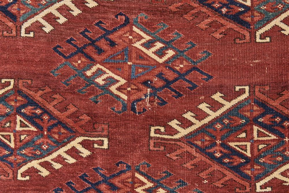 Yomud Main Carpet, Turkestan, ca. 1900; 11 ft. x 6 ft. 6 in.