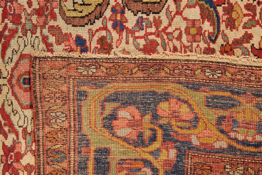 Sarouk Rug, Persia, ca. 1900; 6 ft. 10 in. x 4 ft. 2 in.