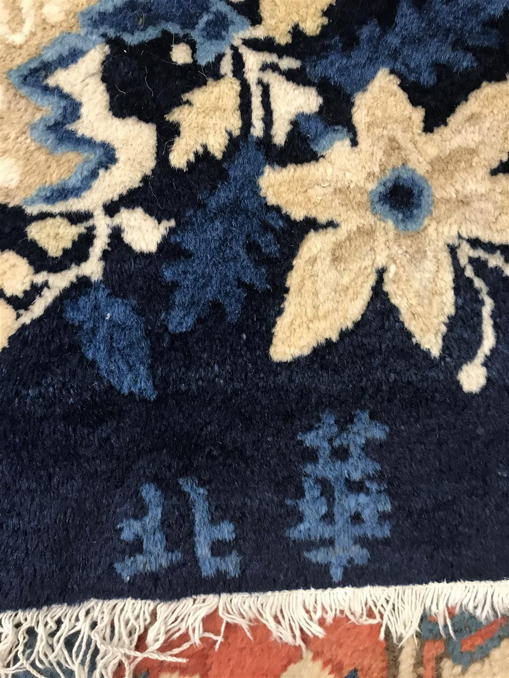Chinese Peking Carpet, ca. 1900, signed; 13 ft. 5 in. x 10 ft.