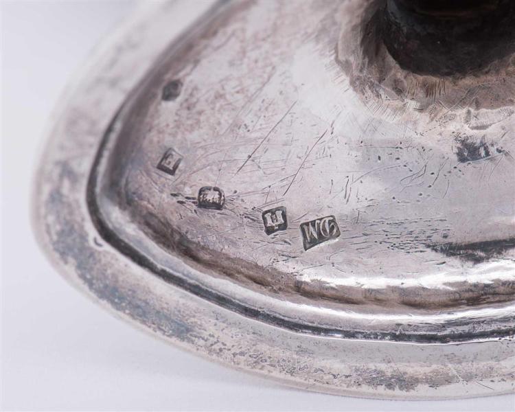 Scottish Silver Footed Candy Dish, Edinburgh, 1784, David Marshall, maker