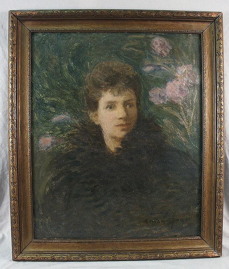 EDMOND FRANCOIS AMAN-JEAN (French 1860-1936)