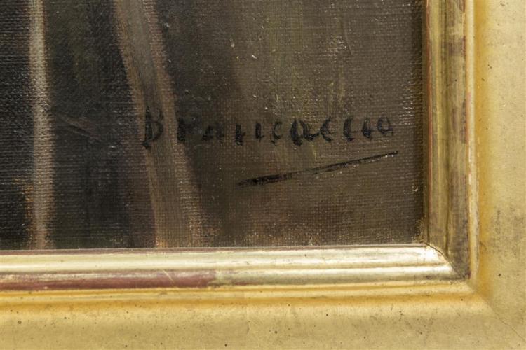 CARLO BRANCACCIO, (Italian, 1861-1920), VENETIAN CANAL, oil on canvas, 24 x 30 in. (33 1/2 x 29 1/2 in.)