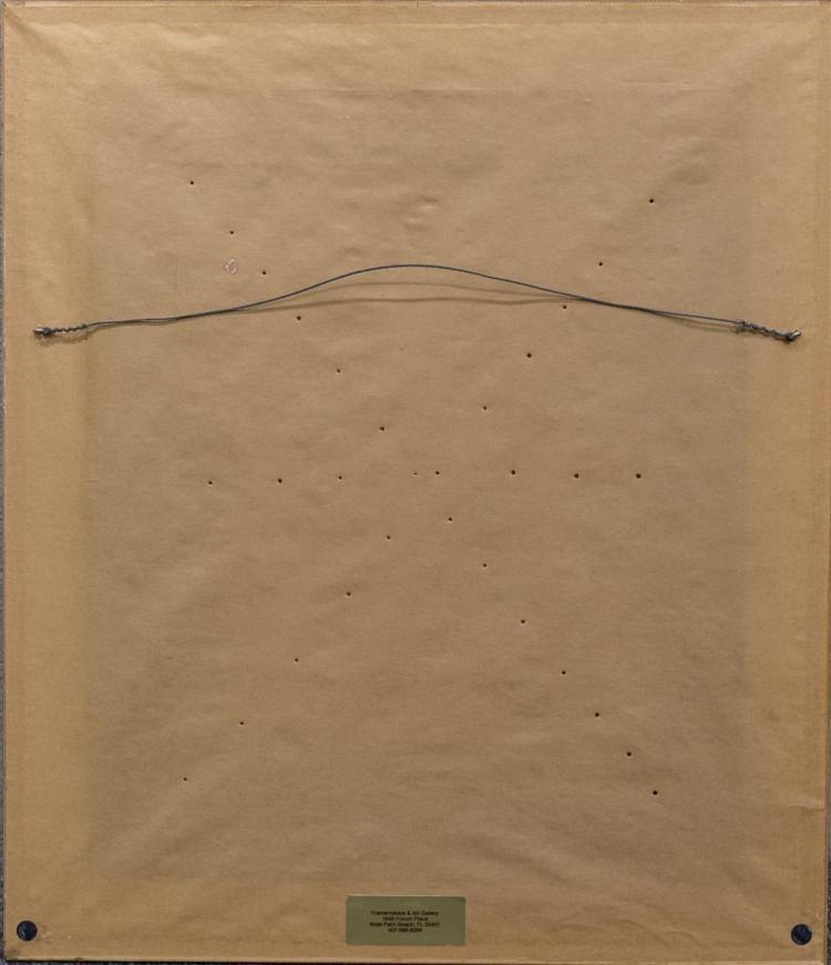 NANETTE LEDERER CALDER, (American, 1866-1960), FLORAL STILL LIFE, oil on canvas, 17 3/4 x 14 1/2 in. (22 x 19 in.)