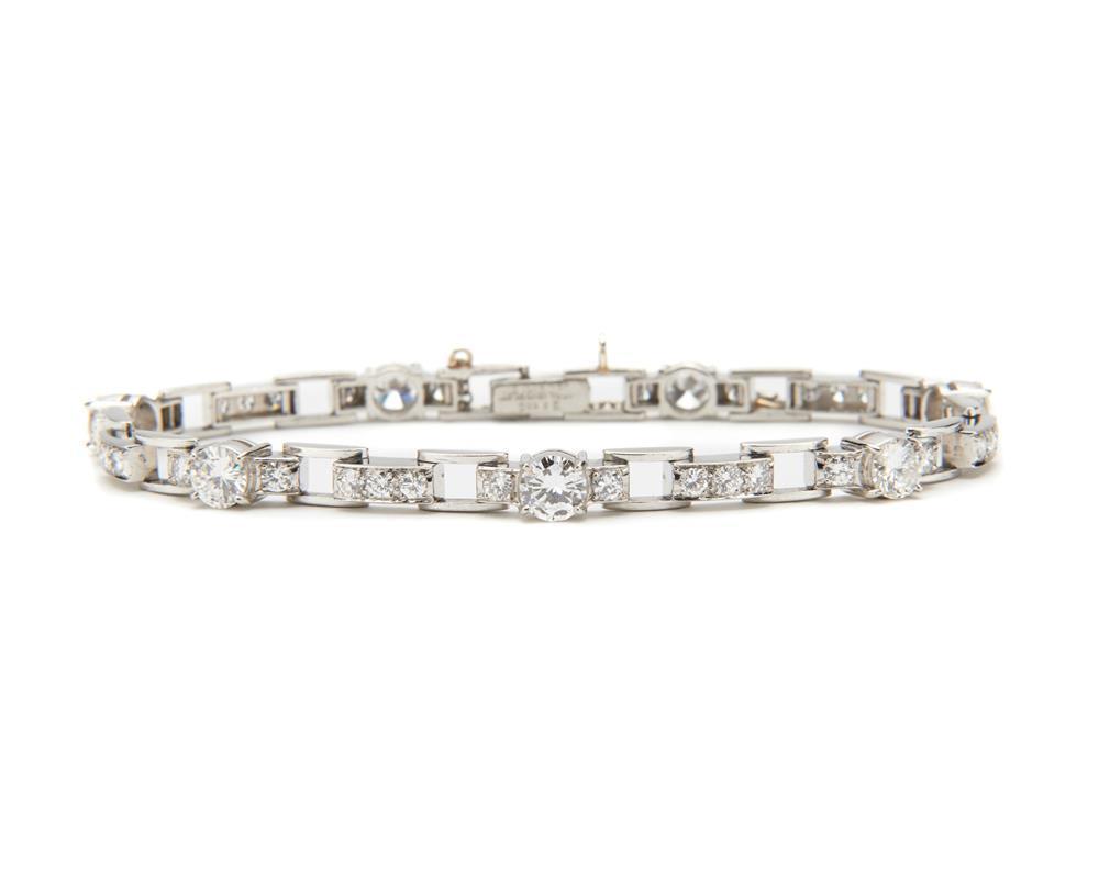 J.E. CALDWELL & CO. Platinum and Diamond Bracelet