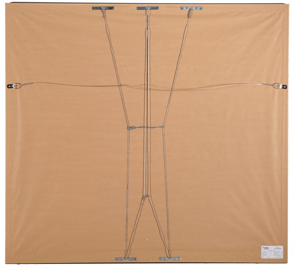 WILLIAM LESTER STEVENS, (American, 1888-1969), Autumn Scene, gouache, sight: 28 1/2 x 32 1/2 in., frame: 41 x 45 in.