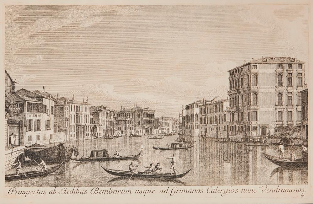 ANTONIO VISENTINI (Italian, 1688-1782), after CANALETTO (Italian, 1679-1768)