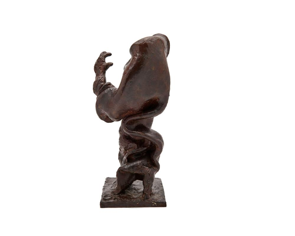 JACQUES LIPCHITZ, (French, 1891-1973), The Prophet, bronze, height: 14 3/8 in.