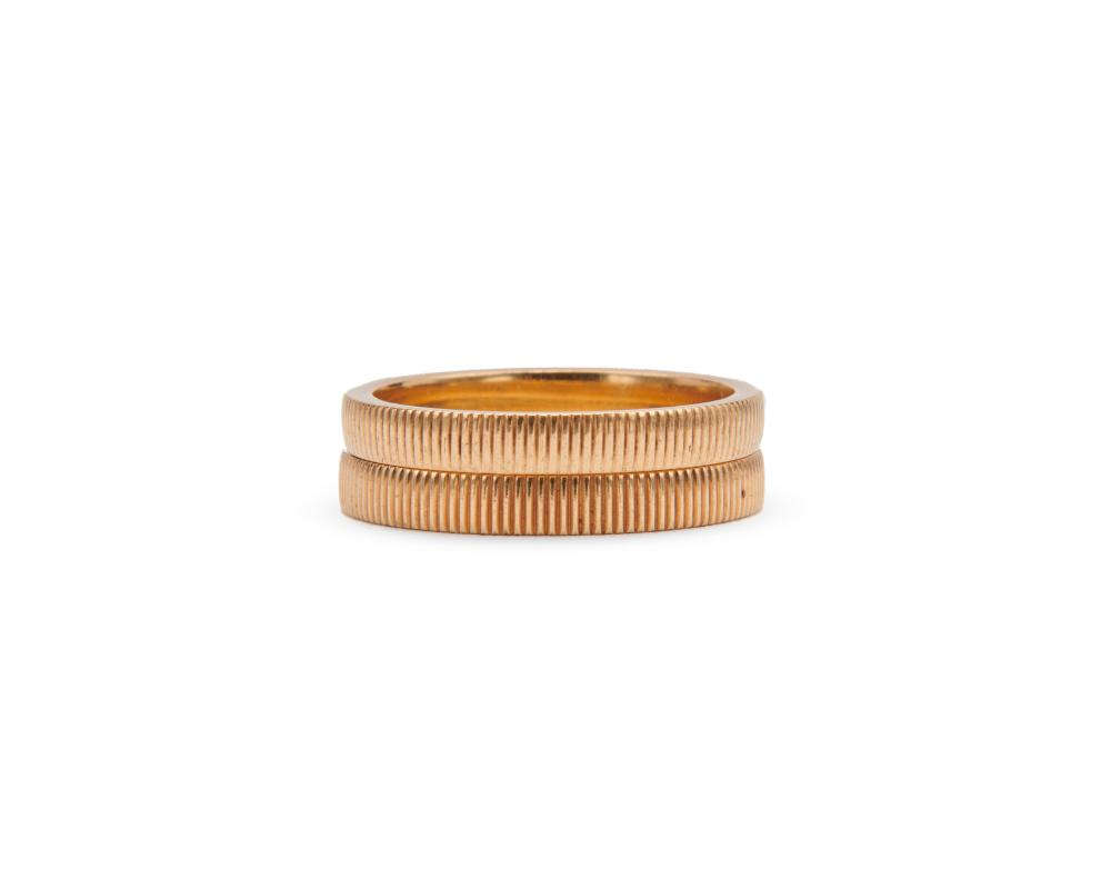Pair of 14K Gold Bands
