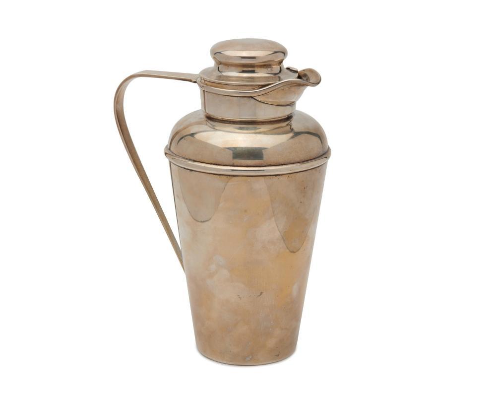 GORHAM Art Deco Silver Cocktail Shaker, pattern no. A1666