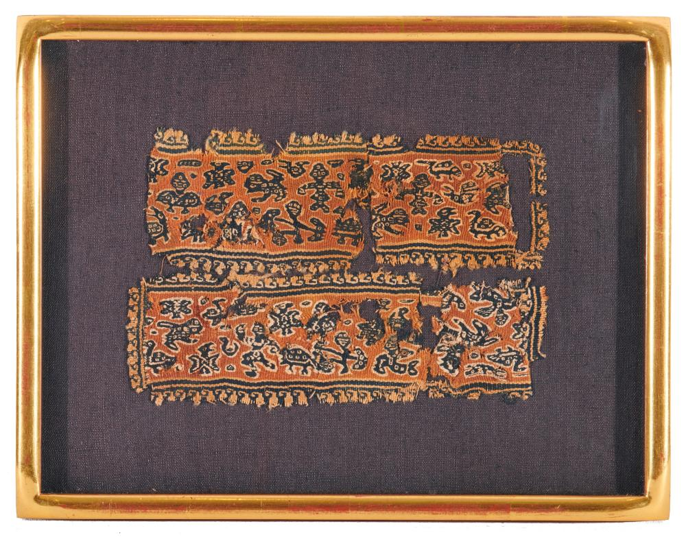 Collection of Sixteen Coptic Textiles