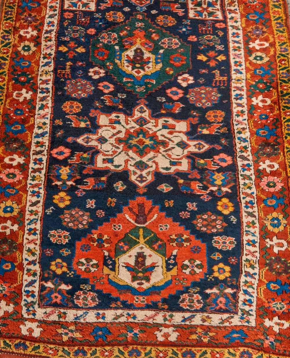 North West Persian Runner, ca. 1900; 12 ft. 8 in. x 3 ft. 7 in.