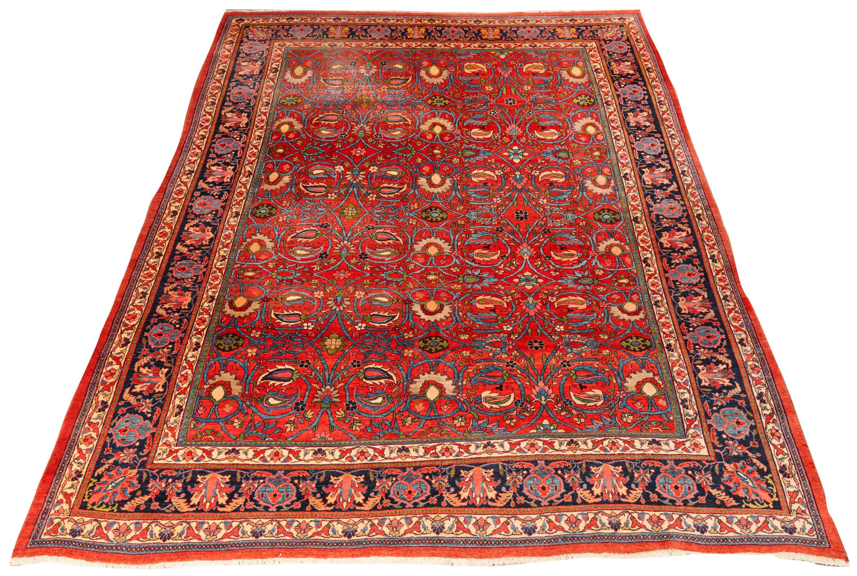 Bidjar Carpet, Persia, ca. 1900; 11 ft. 10 in. x 9 ft. 6 in.