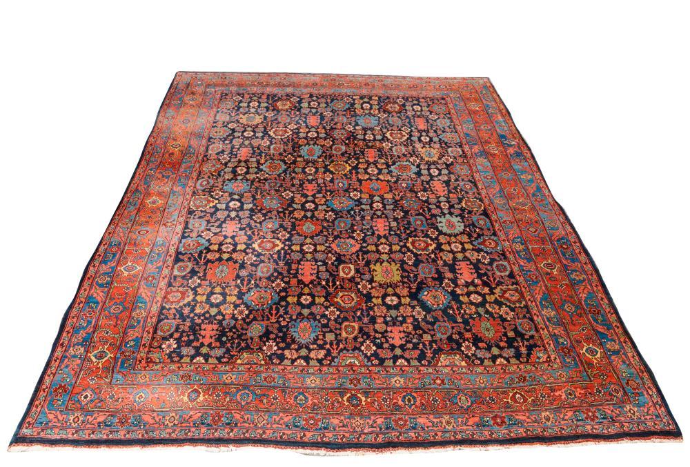 Bidjar Carpet, Persia, ca. 1900; 11 ft. 10 in. x 9 ft.
