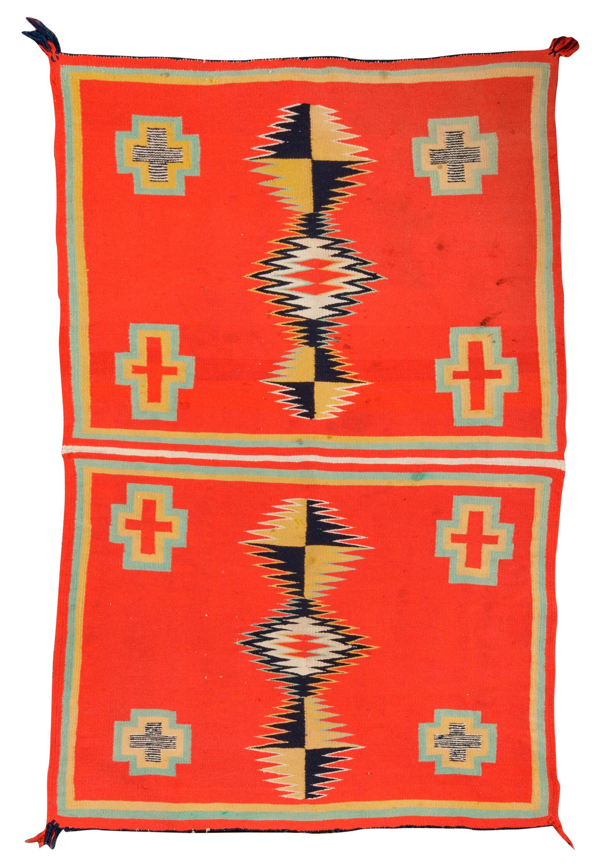 Navajo Child''s Wearing Blanket; 4ft. x 2 ft. 9 in.