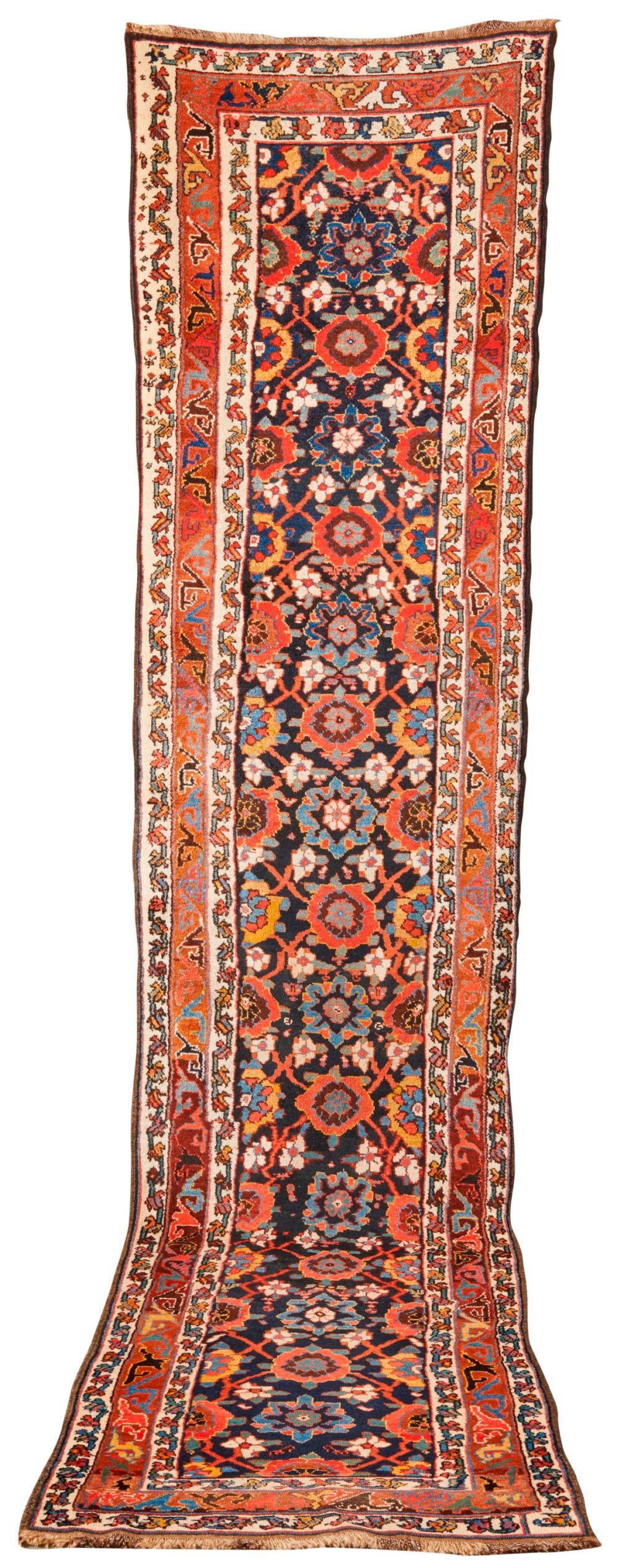Luri-Veramin Runner, Persia, ca. 1870; 11 ft. 6 in. x 2 ft. 9 in.