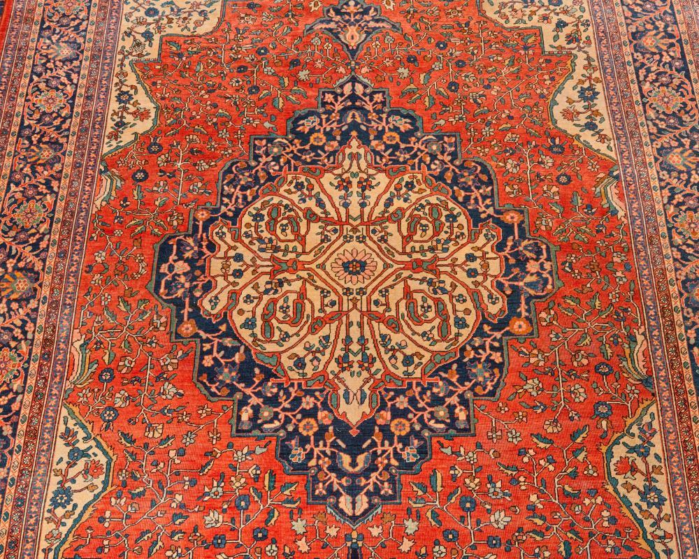 Sarouk Fereghan Carpet, Persia, ca. 1910; 8 ft. 9 in. x 12 ft. 3 in.