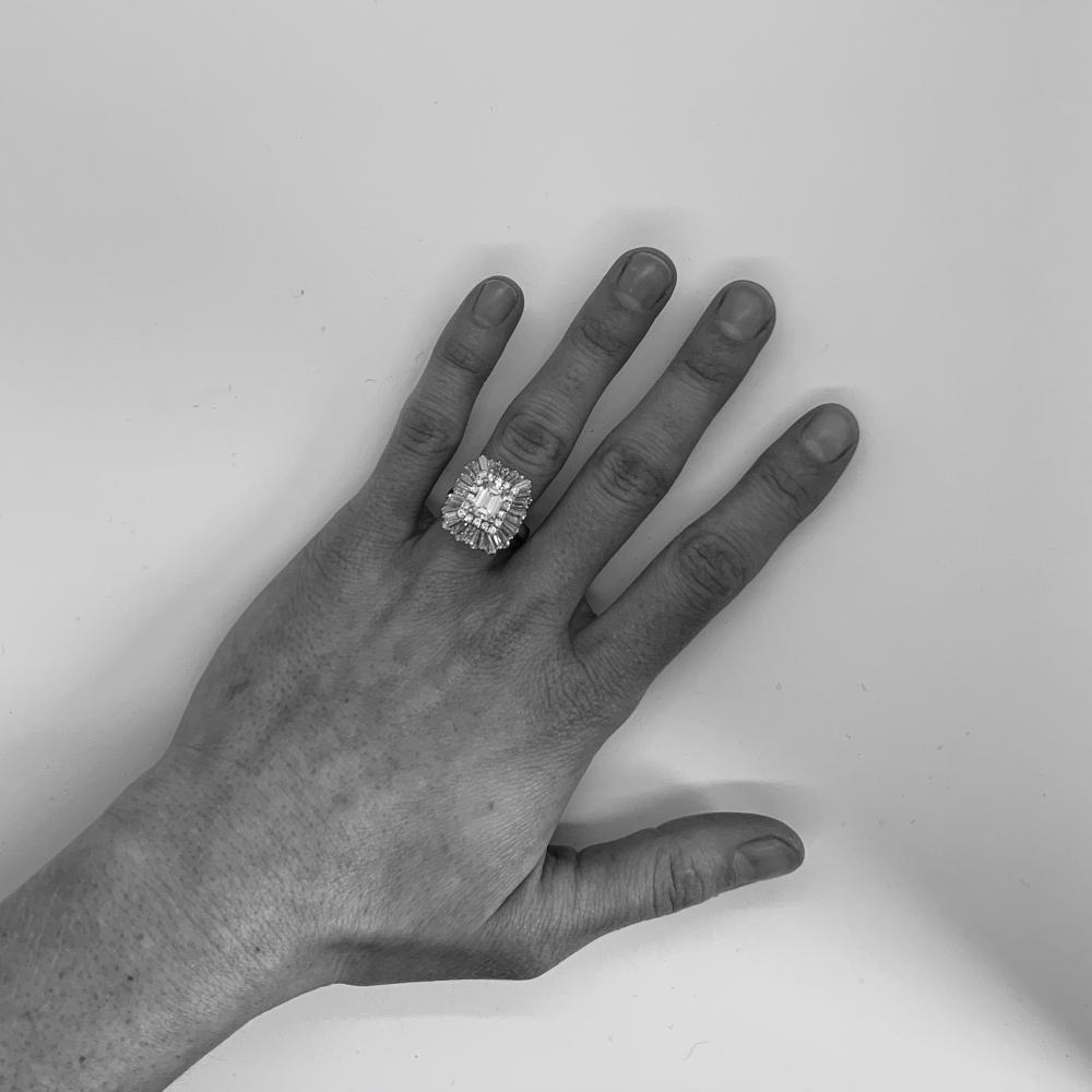 Platinum and Diamond Ring/Pendant