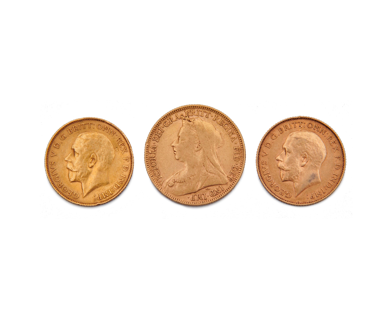 Three Austrian Gold Coins