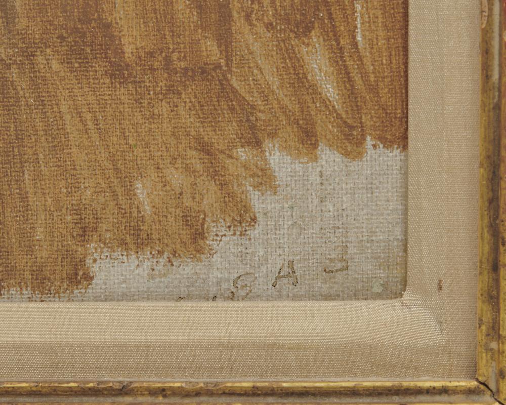 ROBERT HENRI, (American, 1865-1929), The Dormer, oil on canvas, 14 x 10 in., frame: 20 x 16 in.