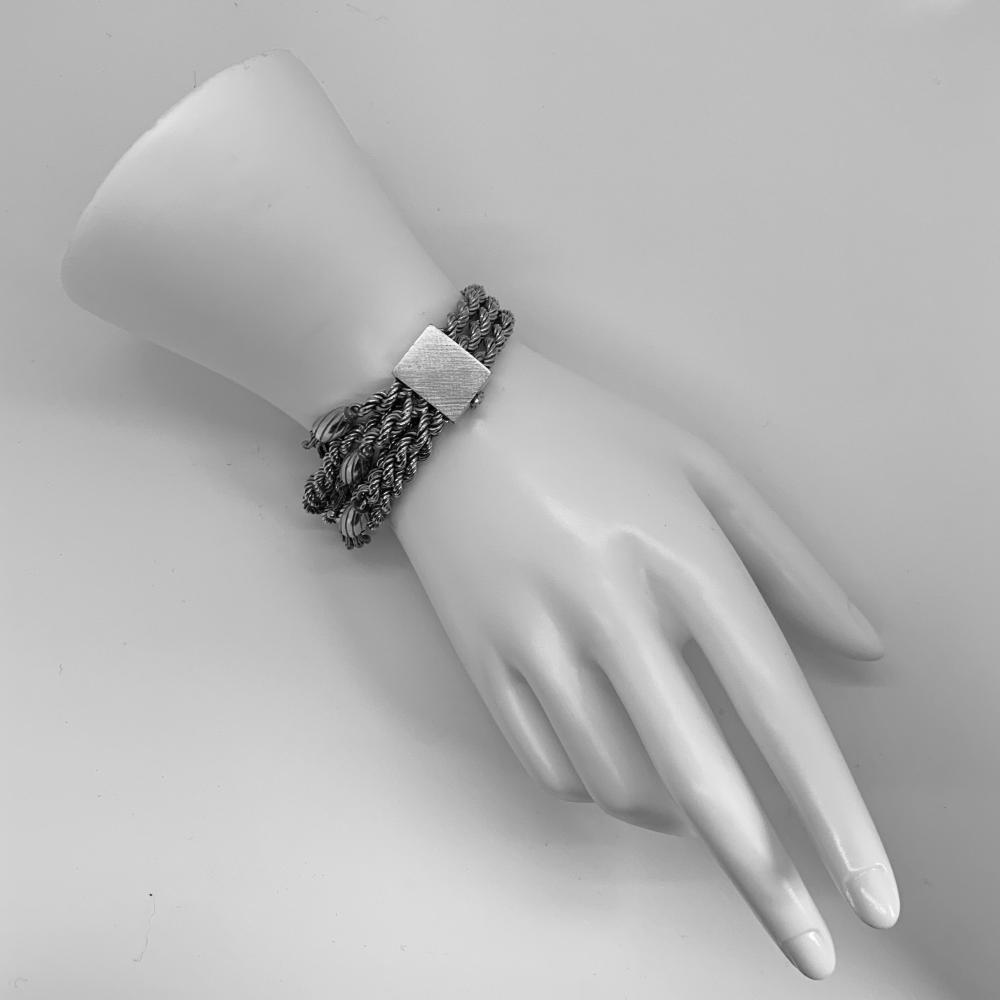 18K Gold Rope Bracelet